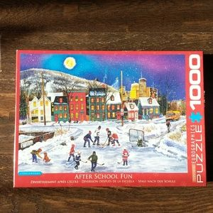 Eurographics After School Fun 1000 Piece Puzzle